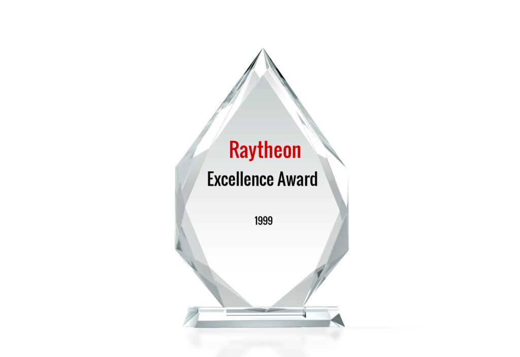 Raytheon Excellence Award