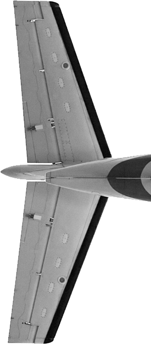airplane model tail
